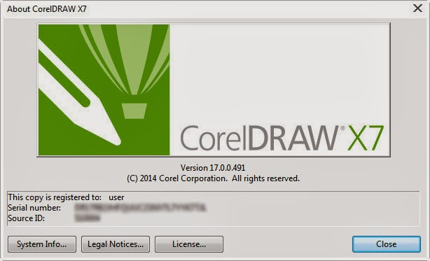 Corel Draw x7 Keygen Regestration Screenshot